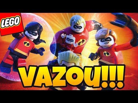 LEGO OS INCRÍVEIS VAZOU!! O QUE ESPERAR DO NOVO JOGO LEGO FOCADO EM OS INCRÍVEIS 2, DA PIXAR?