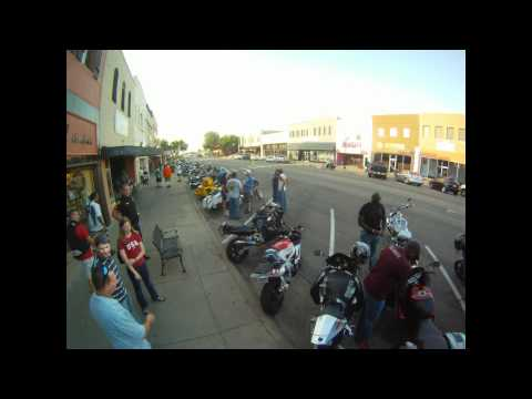 Stillwater Downtown Bike Night July 3, 2012 Time Lapse