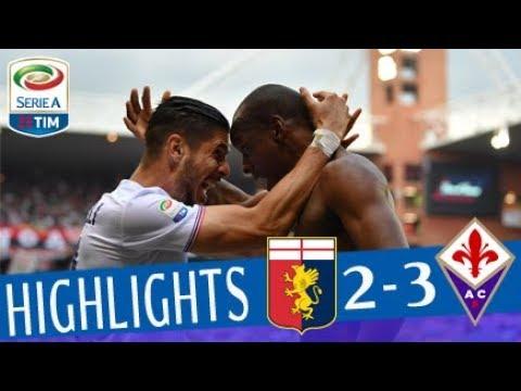Genoa - Fiorentina 2-3 - Highlights - Giornata 36 - Serie A TIM 2017/18