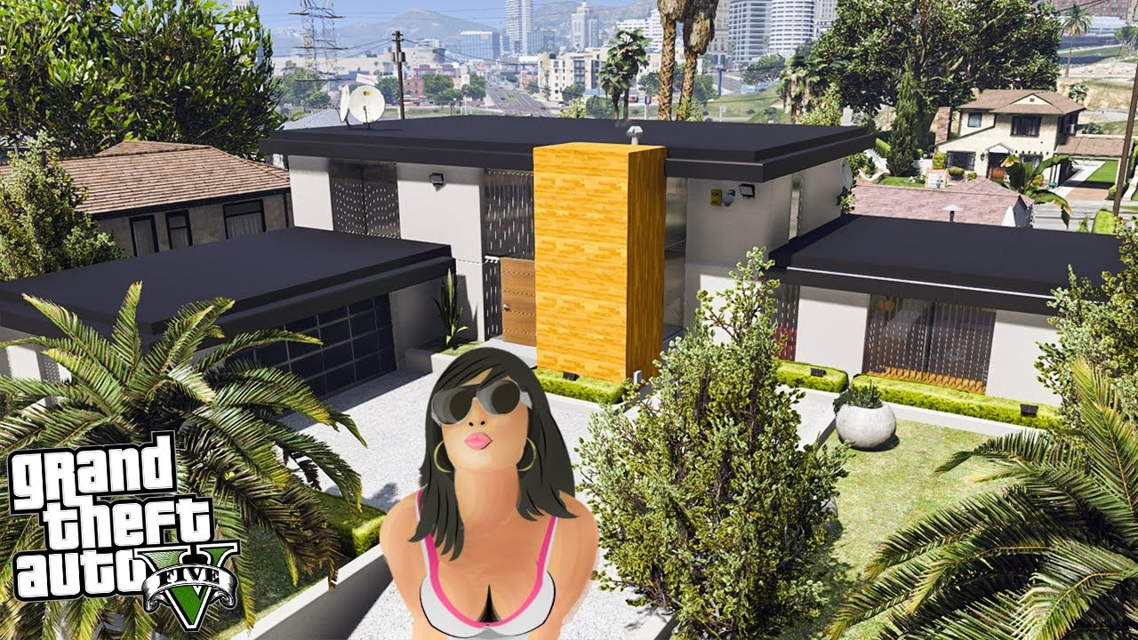 une maison de millionnaire ultra d taill e gta 5 mods youtube. Black Bedroom Furniture Sets. Home Design Ideas