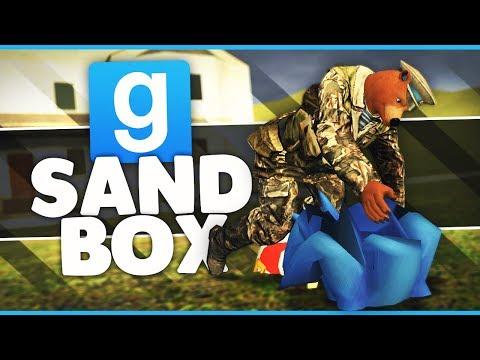 BEHIND THE SCENES!!! - Gmod Sandbox Funny Moments