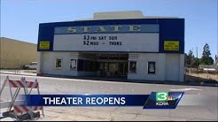 New face for old theater: Historic Woodland movie theater reopens