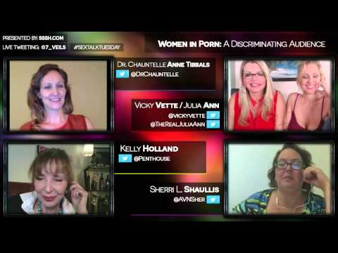 """Mindbrowse com Interview Broadcast  """"Women In Porn  A Discriminating Audience"""" HD"""