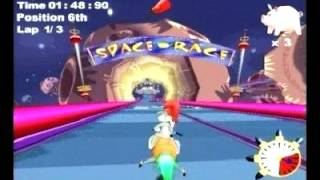 Looney Tunes: Space Race trailer | Game Archives