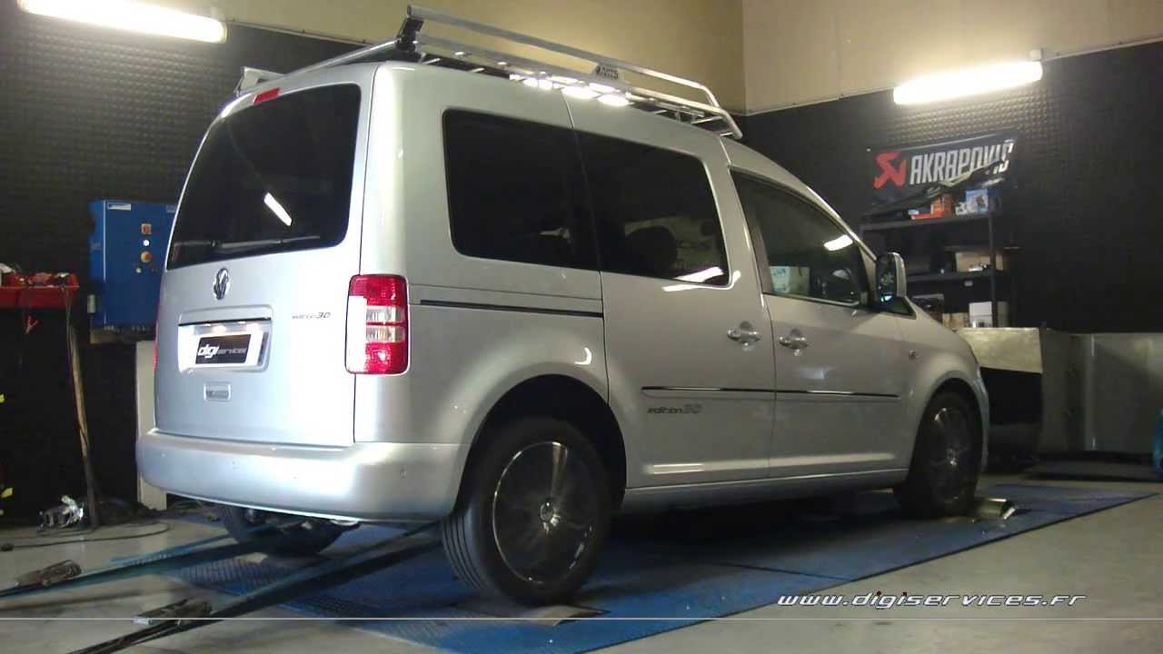 reprogrammation moteur vw caddy tdi 170cv 206cv digiservices paris 77183 dyno youtube. Black Bedroom Furniture Sets. Home Design Ideas
