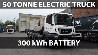 Stena Recycling's 50 tonne electric truck from Emoss