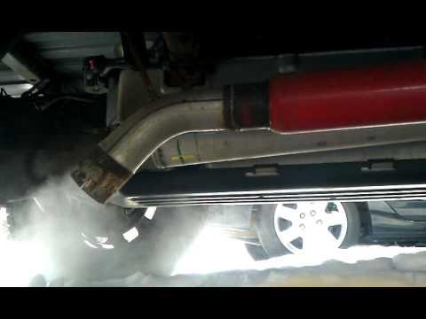 Chevy silverado 4.3 vortec glasspack - YouTube