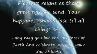 HAPPY BIRTHDAY WITH POEM