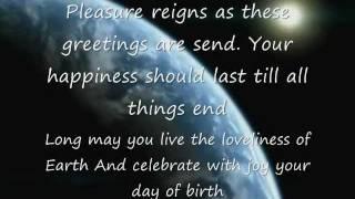 HAPPY BIRTHDAY WITH POEM