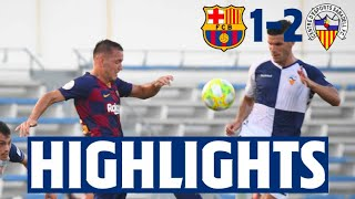 HIGHLIGHTS | Barça B against Sabadell in the play-off final!