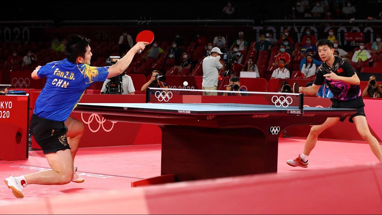 MA LONG vs FAN ZHENDONG - Summarize an epic match!