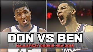 BEN SIMMONS vs DONOVAN MITCHELL ► kto debiutantem roku? | NBA po POLSKU