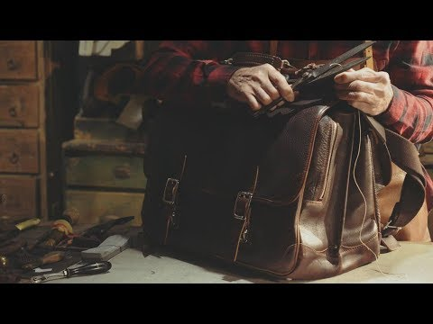 Handmade Leather Bag Production | Old Craftsman thumbnail