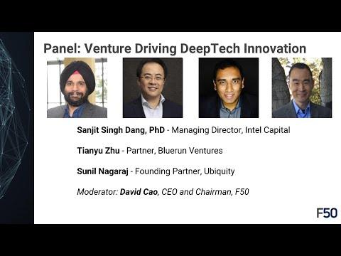 Venture Driving DeepTech Innovation, Intel Capital, Bluerun, Uniquity, DeepTech Summit 2018 by F50