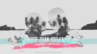 Gambar cover ● more than you know.
