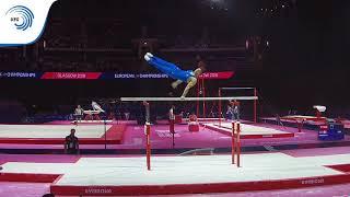 Marco SARRUGERIO (ITA) - 2018 Artistic Gymnastics Europeans, qualification parallel bars