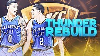 Lonzo Ball + Kyle Kuzma Traded! OKC Thunder Rebuild   NBA 2K19