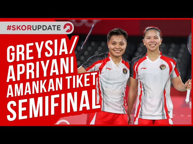 Greysia Polii/Apriyani Rahayu Amankan Tiket Semifinal, Anthony Ginting ke Perempat Final