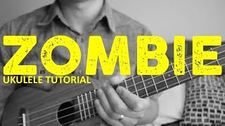 The Cranberries - Zombie (EASY Ukulele Tutorial) - Chords - How To Play - rock and roll music ukulele chords