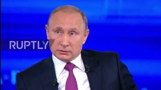 Russia  Stricter anti Russia sanctions introduced 'to contain' Russia   Putin