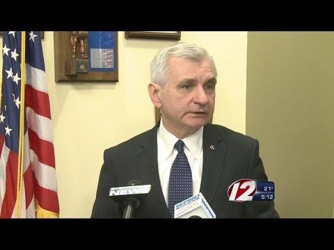 U.S. Sen. Jack Reed speaks in favor of extending benefits