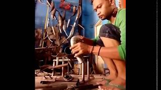 Cara Pembuatan Knalpot Kolong RX king dan Motor 2tak