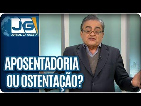 José Nêumanne Pinto / R$ 9 milhões são aposentadoria ou ostentação?