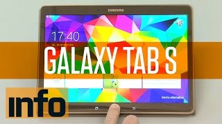 Nenhum tablet supera o Galaxy Tab S em tela e bateria