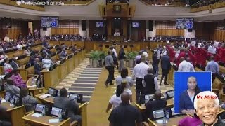 "EFF Forcefully Removed From Parliament AGAIN. ""Fees Must Fall"""