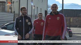 Профессиональные футболисты посетили интернат в Алагире