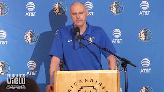 Rick Carlisle Talks Mavericks Selection of Jalen Brunson (Full Press Conference)