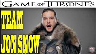 Game Of Thrones season 7 Teams -  Team Jon Snow : Jon Snow