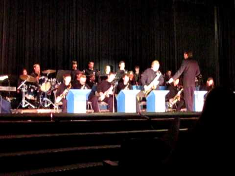 Wendover Middle School Stage Band Musart Concert 2011 STRAIGHT NO CHASER