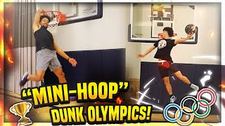 "The Mini-Hoop ""DUNK OLYMPICS"" 