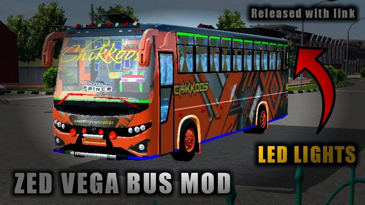 Download Real ZED VEGA Bus Mod In Bus Simulator Indonesia|Bussid V3.3.3