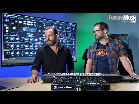 Laboratorio de diseño sonoro inverso con Novation PEAK en FutureMusic media[LAB]