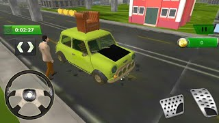 Mr bean Car Crazy Driver Funny Game for Kids