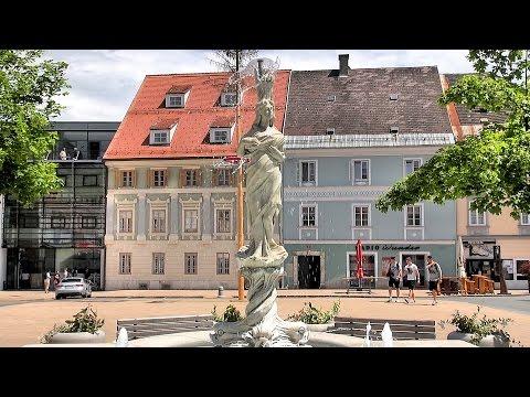 Feldkirchen in Kärnten, Carinthia, Austria (Österreich) [HD] (videoturysta)
