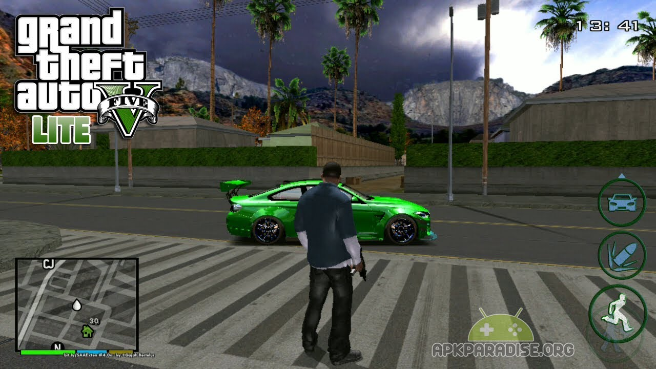 download gta sa lite v mod apk