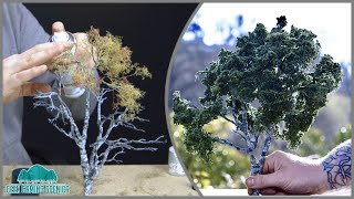 Realistic Miniature Model Silver Birch Tree
