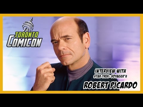 Star Trek's Robert Picardo Interview | Toronto Comicon 2017