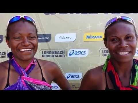 FIVB World Tour: Vanuatu defeats the World Champions!