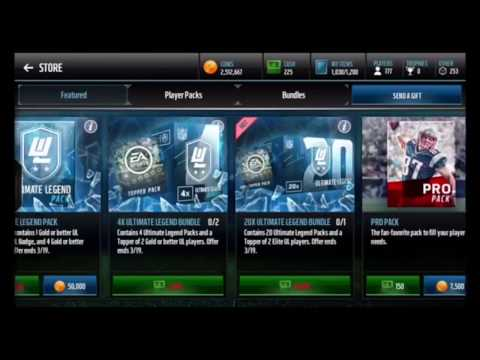 WE PULLED 98 KEVIN MAWAE BOSS LEGEND!!! 30 MILLION COINS OPENING!!