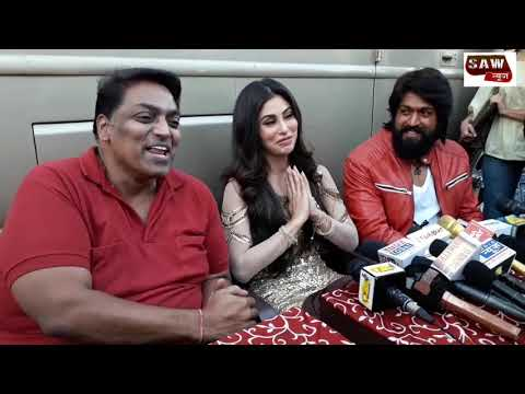 Kgf Hero Yash And Mouni Roy On Location Song Shoot Of Gully Gully