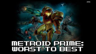 Ranking the Metroid Prime Games