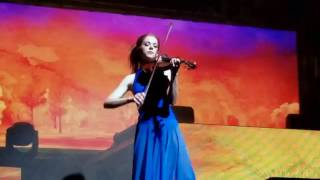 Lindsey talks about Gavi's Song - Lindsey Stirling @ Fox Theater Oakland 9/22/16