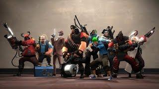 Team Fortress 2 Машины против Людей