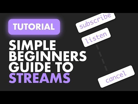 Simple Beginners Guide to Streams   Flutter and Dart Stream Basics