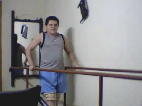 Fisioterapia alex cesar testando as barras paralelas em casa 1 youtube - Barras de ejercicio para casa ...