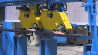 G&P Machinery - S-6746-F-M1 Dual Weld Seam Grinding Machine